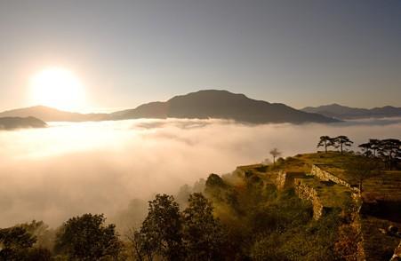 takedajyou3 天空の城!竹田城跡までのアクセスは?雲海はどの時期がみれるの?